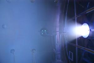 Essai réel d'un moteur VASIMR à pleine puissance Crédit: Ad Astra