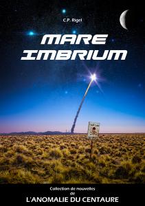 Couverture possible de ma prochaine histoire sous forme de nouvelle: Mare Imbrium