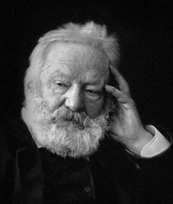 Victor Hugo en pleine reflexion